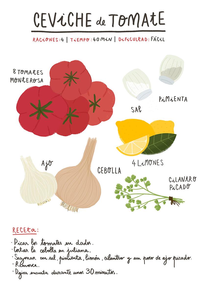 Ceviche de tomate